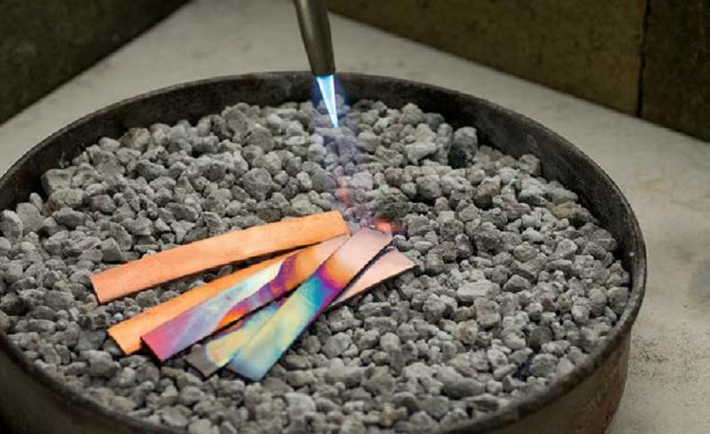 annealing metal and soldering tips for beginner metalsmiths