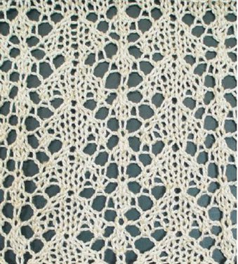 Easy Knitted Lace Pattern