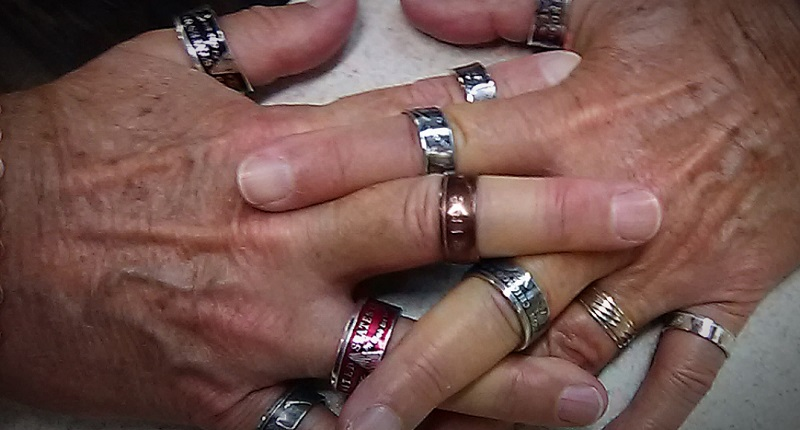 Studio Notes: Leave an Impression with Coin Rings