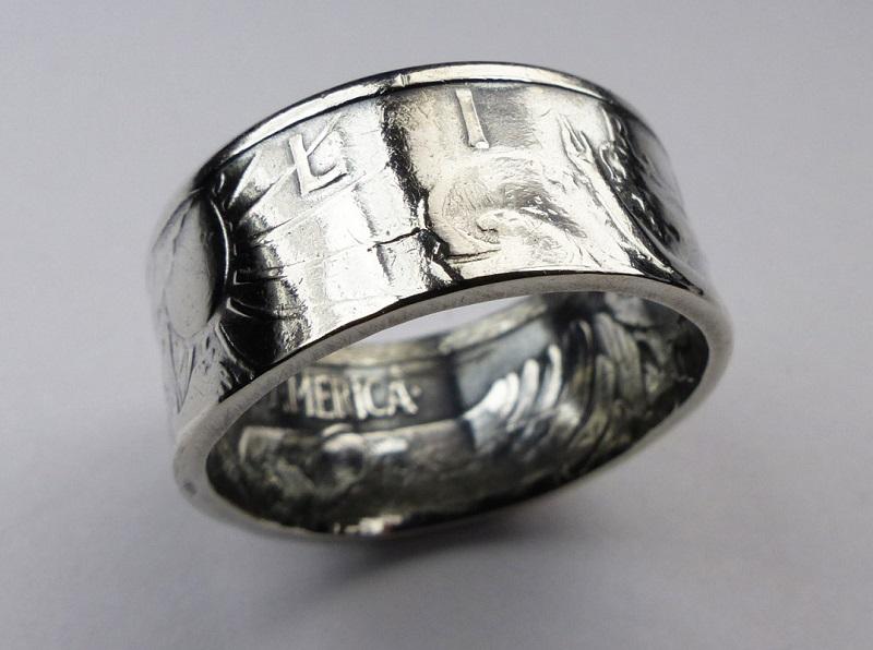 coin rings Betsy Lehndorff