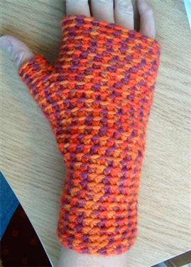 Basic Crochet Fingerless Mittens Pattern Youll Love Interweave