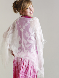 Lacy Poncho by Esther Danielson