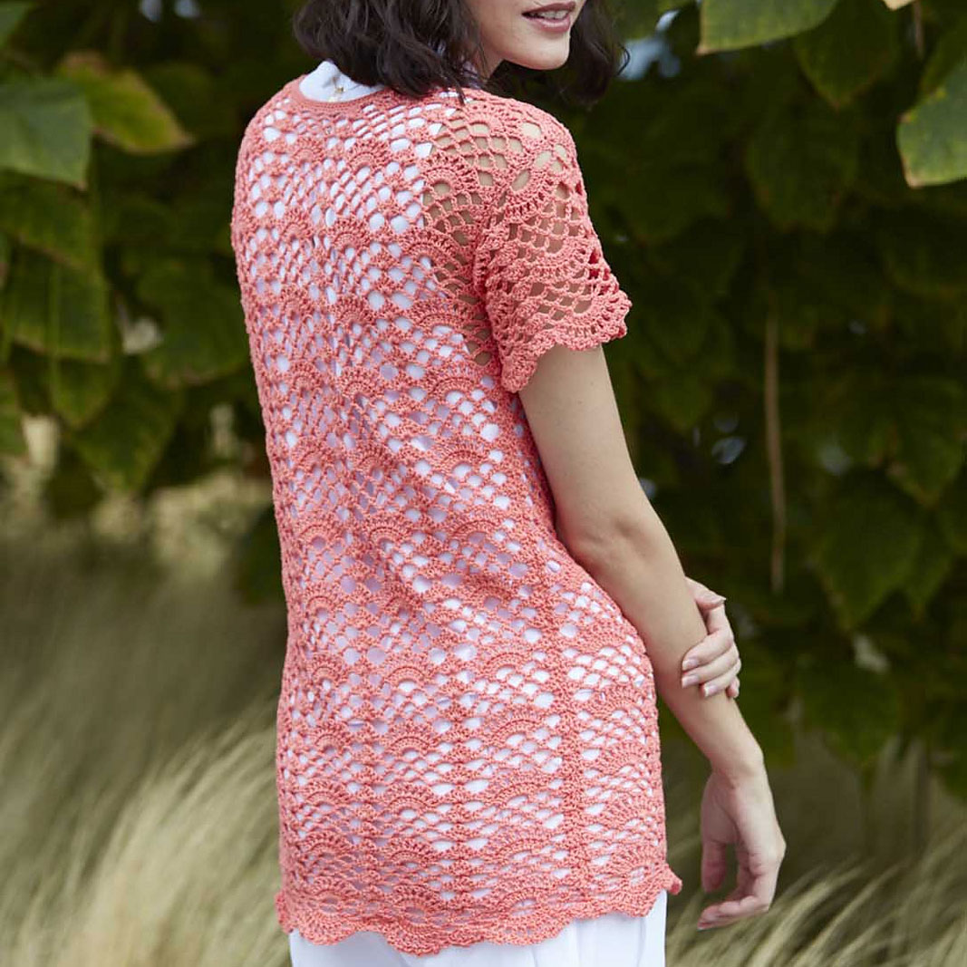 Back view of Buttercup Tee by Anastasia Popova