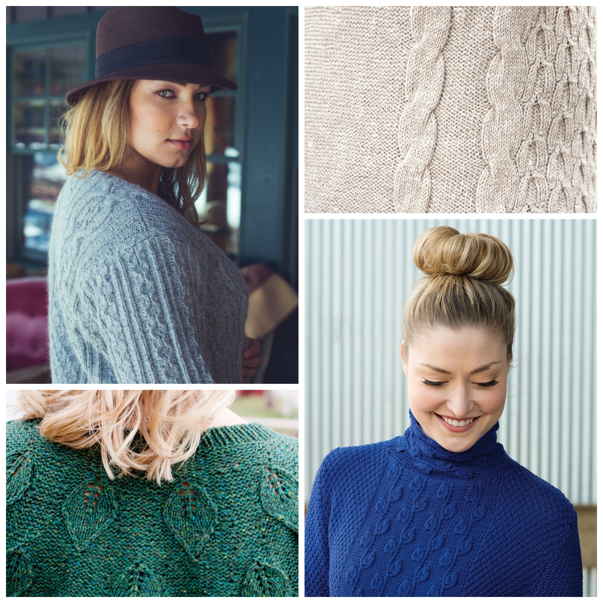 Cable knitting can produce many distinctive patterns into garments.