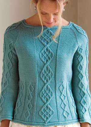 3061a76907c734 Crazy for Cable Knitting