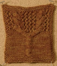 Learn about this nifty cable and lace knitting stitch by Carol Feller in this free eBook on nine amazing knitting stitches.