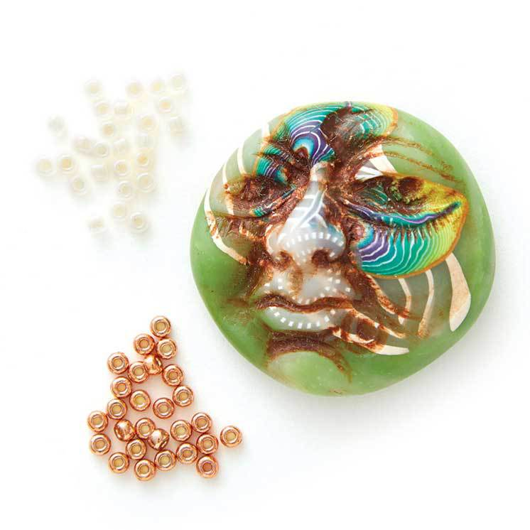 Klew's Expressions polymer clay face cabochons