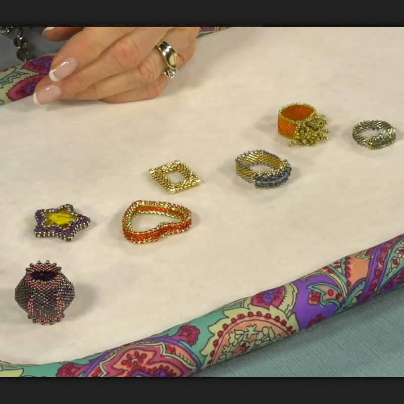 Secrets to Successful Structural Peyote Stitch Jewelry with Nancy Cain