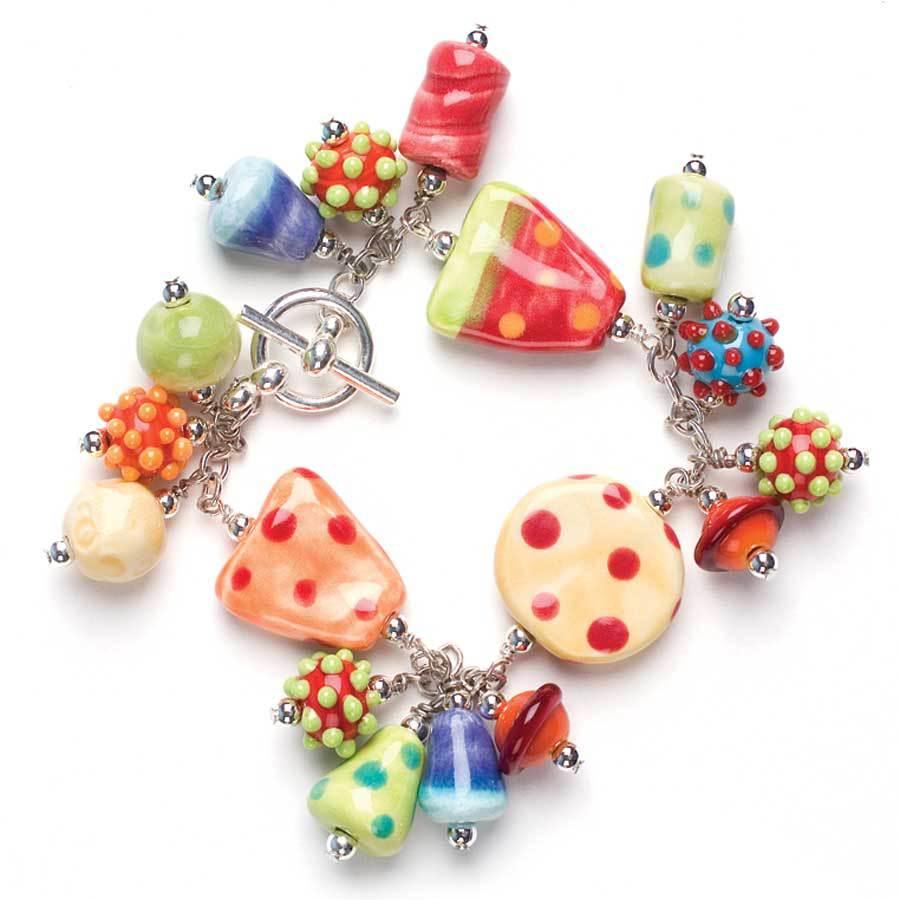 Candy Charm Bracelet by Jennifer Heynen