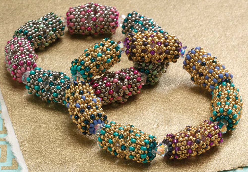 Beading patterns for back to school, Capulets' Treasure by Laura Andrews