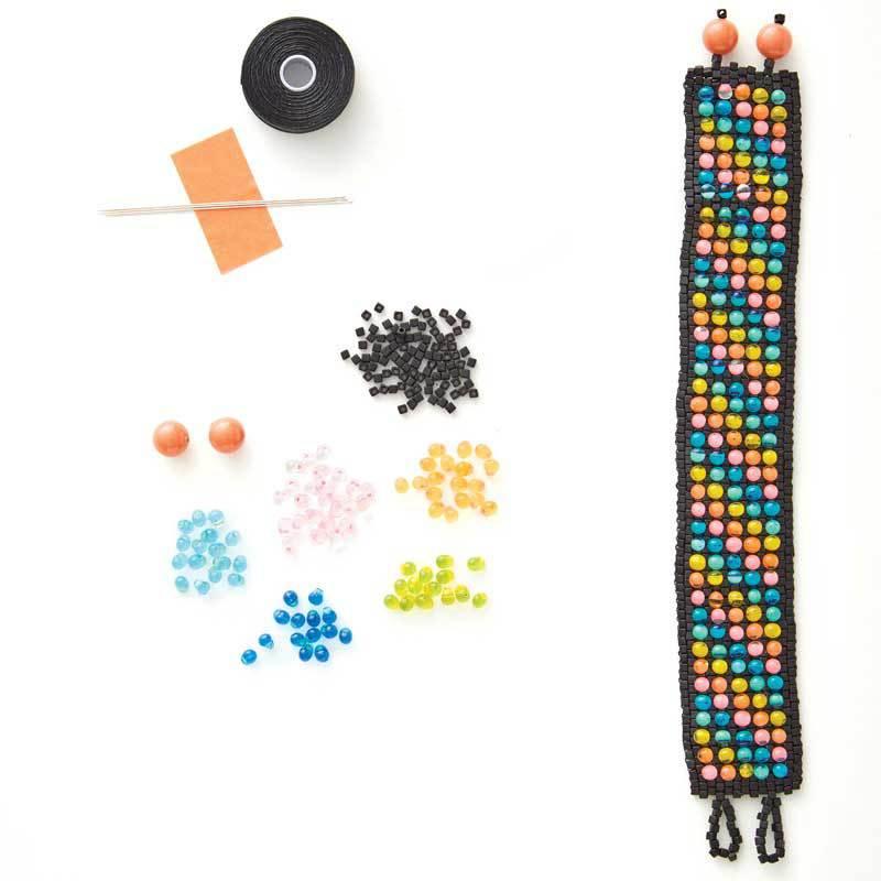 Caravan Beads' Candy Dot Bracelet Kit