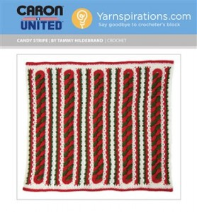 Download Caron's latest crochet pattern for the #WorldsBiggestStocking project here!