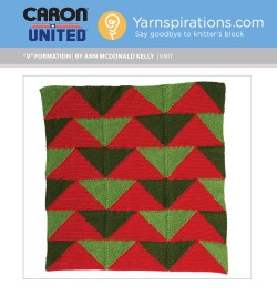 Download the latest free knitting pattern for the Caron's #WorldsBiggestStocking here!