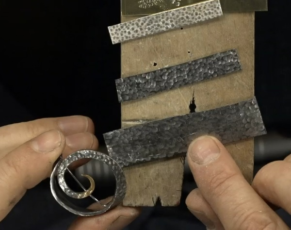 make your own textured metal and texturing plates with a flex shaft
