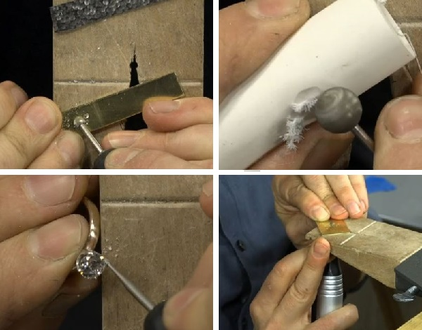 how to use a flex shaft for jewelry making