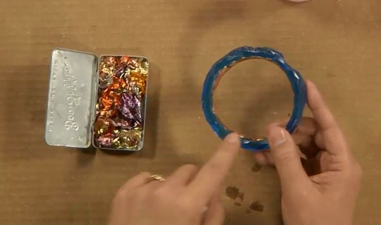 carve, cast, and embellish resin cast bangles and cuffs with Cynthia Thornton
