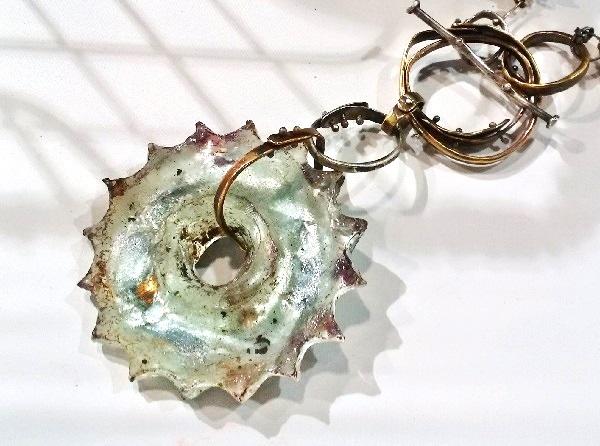 cast resin jewelry making by Susan Lenart Kazmer