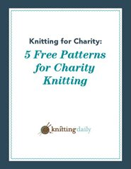 b3ec565dc3a4 Knitting for Charity  5 FREE Charity Knitting Patterns
