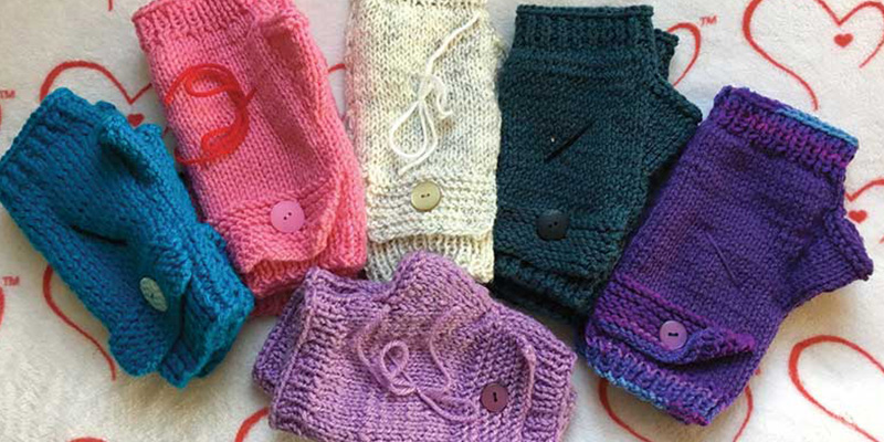 2e331a370 Warmth from a Maker's Hands: The Gift of Charity Knitting | Interweave