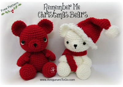 Remember me Christmas bear ornament patterns.