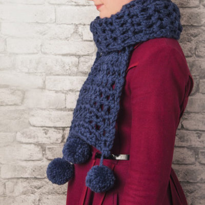 How To Crochet A Scarf Free Crochet Scarf Patterns Tutorial