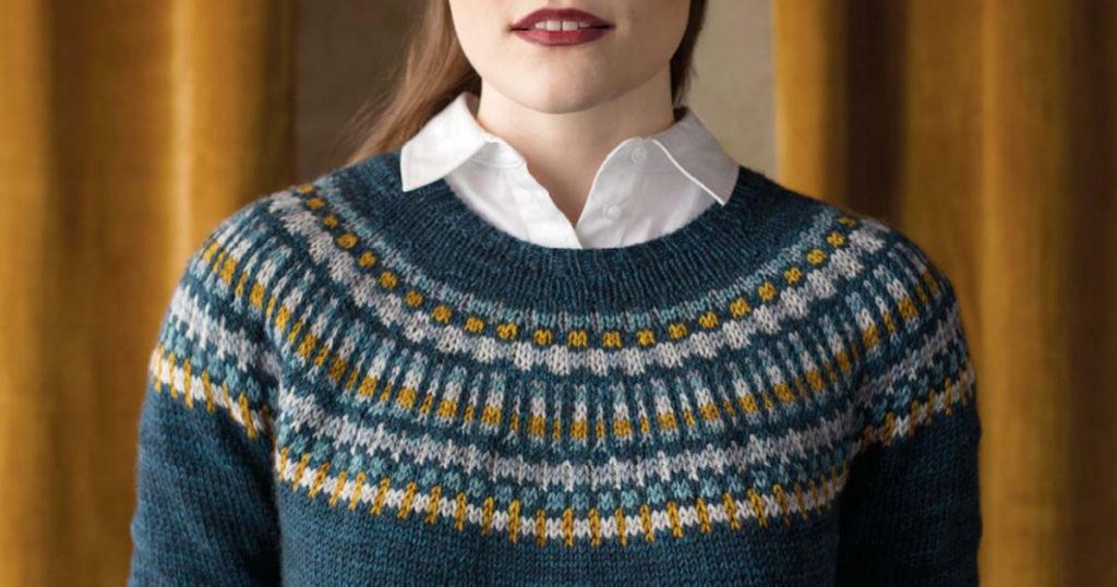 Pattern of the Week: Sigríður Pullover