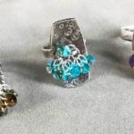 Create Your Own Domed, Textured Metal Clay Ring