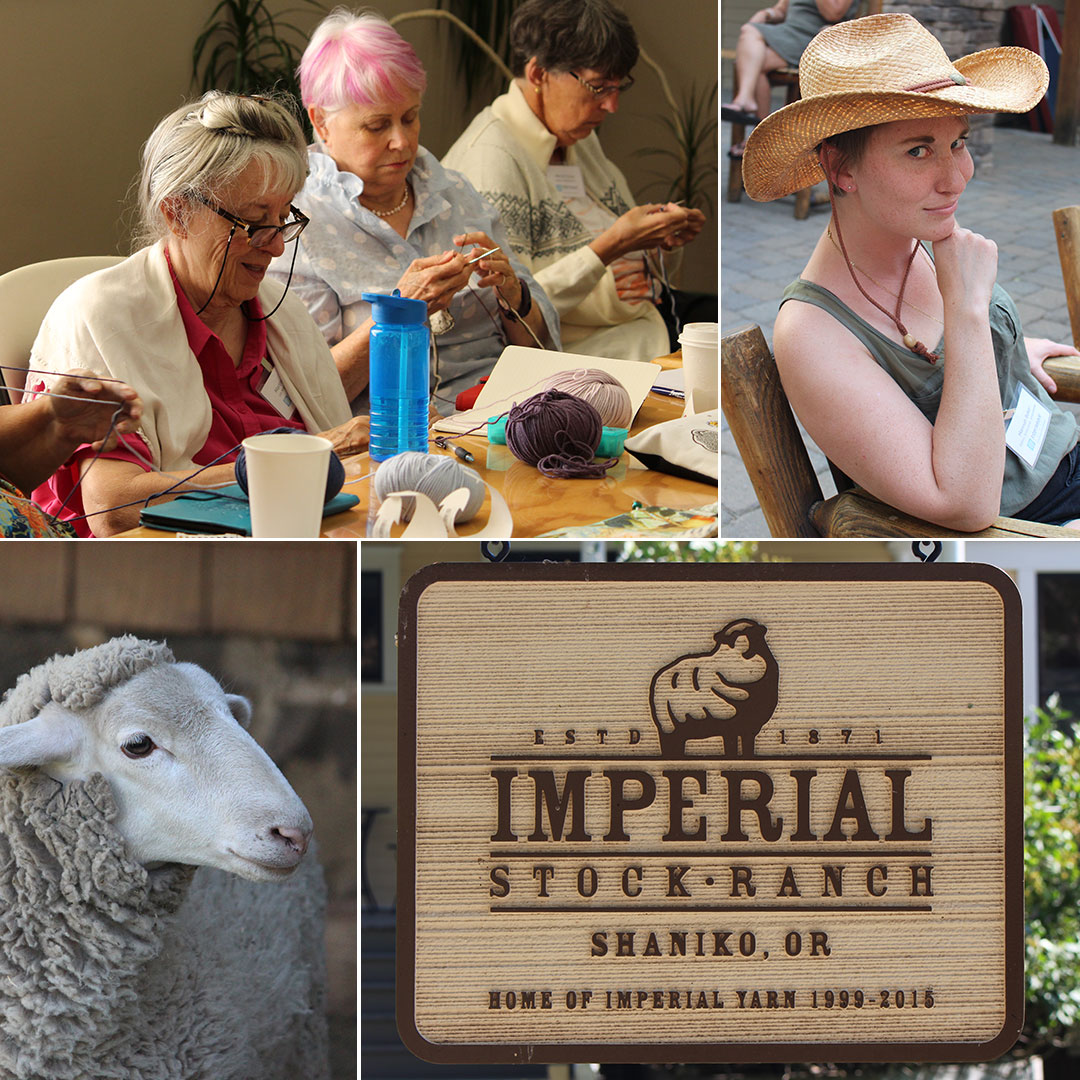 Some moments captured during the trip. We celebrated a birthday, learned the Twigg Stitch, enjoyed the outdoor air, wore our cowgirl hats, and visited the Imperial Stock Ranch. All photos by Pascaline Barry Grooms.