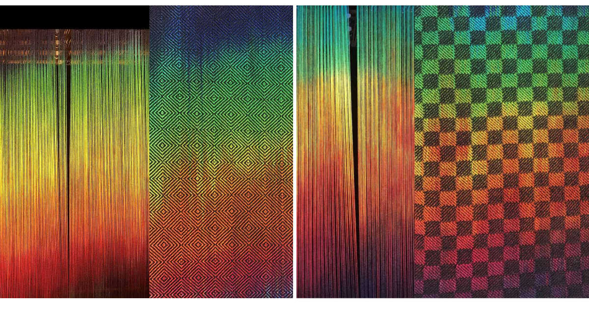 color theory in weaving