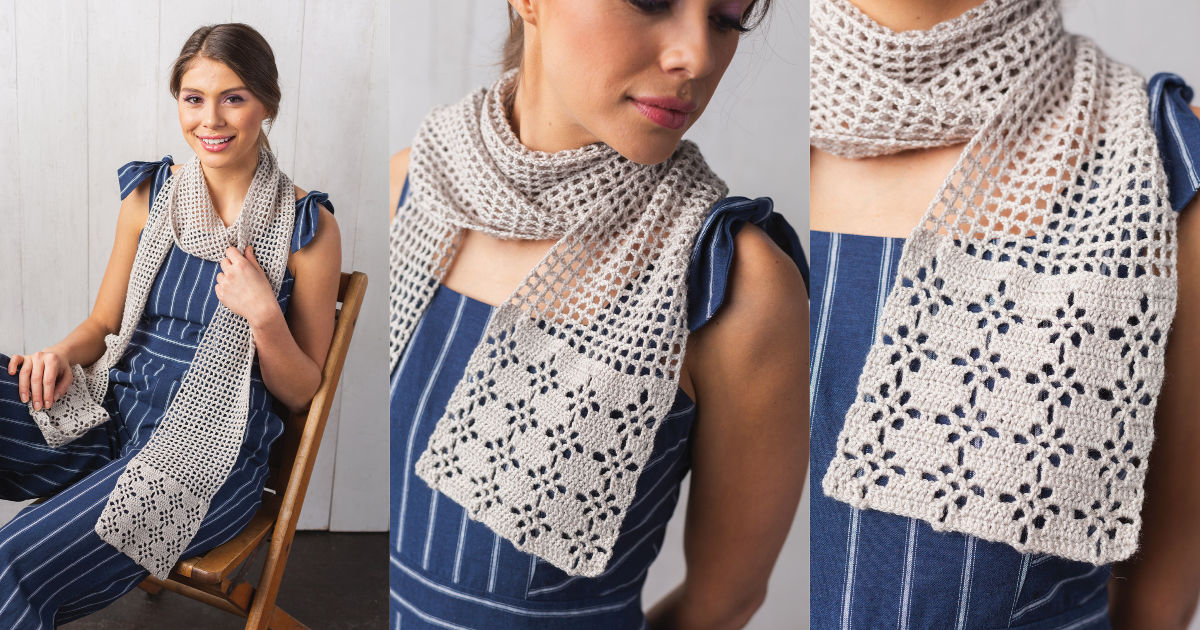 Project of the Week: Columbine Scarf | Interweave