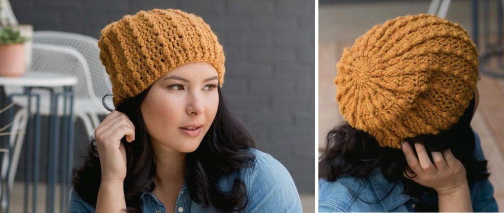 Coriander Puff Hat by Natasha Robarge