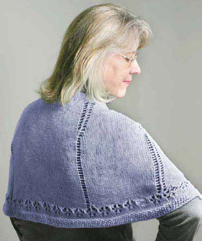 This is the perfect knitted prayer shawl pattern to make for someone who needs comfort and softness.