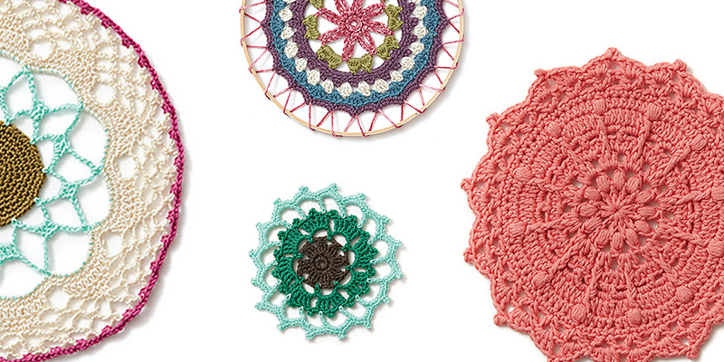 Crochet-Off: DIY Crochet Mandala Wall Hanging Kit