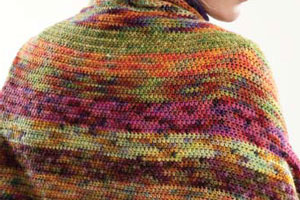 Learn how to crochet in color with these expert tips, such as this crochet changing colors project shown.