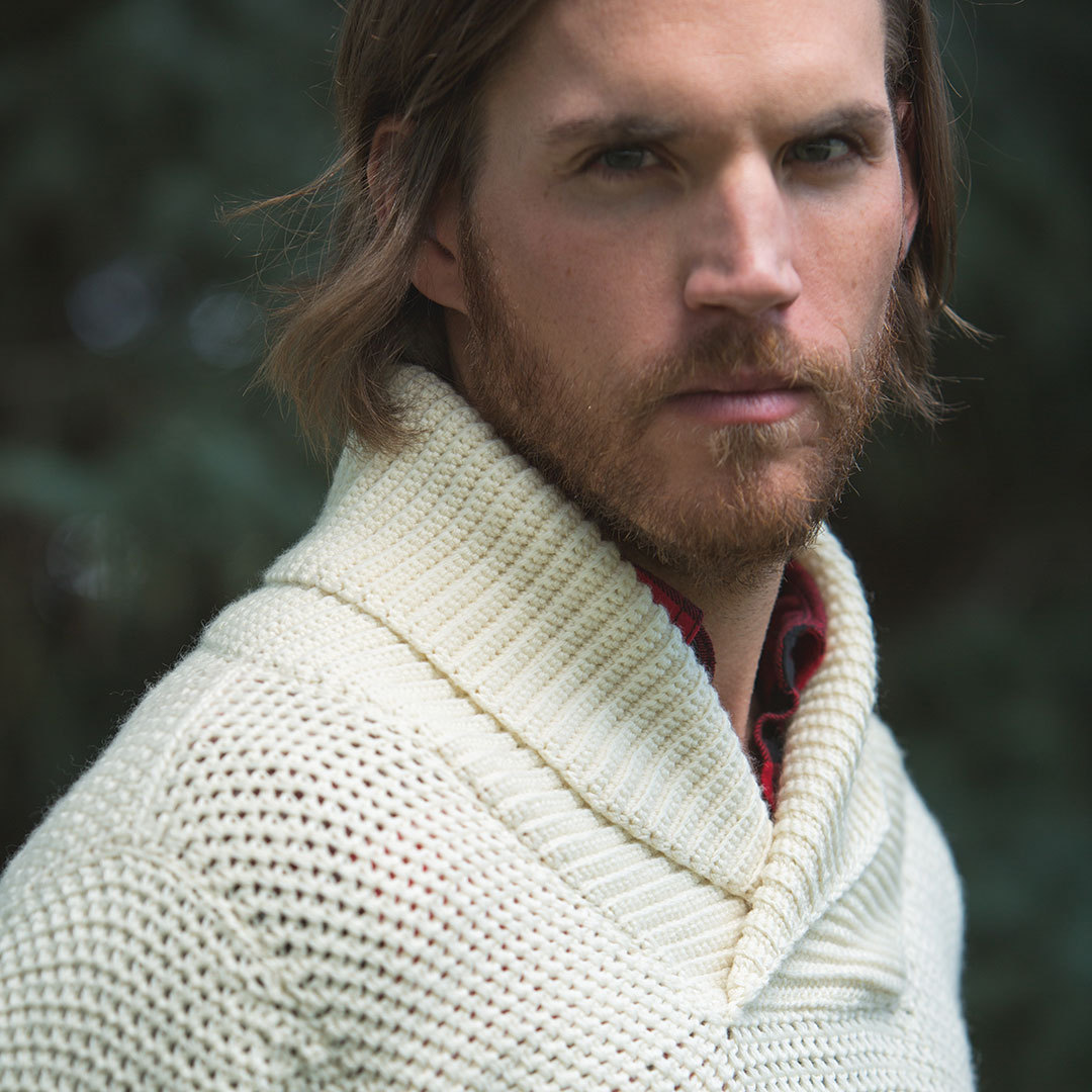 crochet collar easing