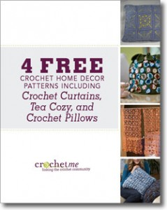 The Free Crochet Home Decor Patterns Features 4 Including Curtains Tea