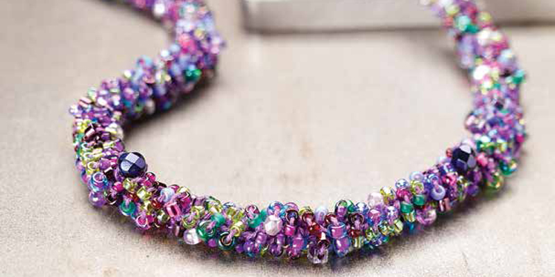 Crochet Jewelry Free Crochet Patterns With Wire Beads Interweave