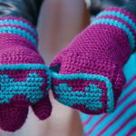 Crochet Mittens: 4 Free Patterns for Crochet Fingerless Gloves, Felted Mittens And Other Mitten Patterns
