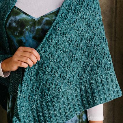 currents shawl