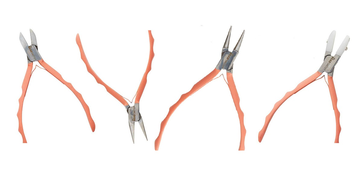 Satin Touch pliers collection from The Beadsmith beading supplies jewelry tools