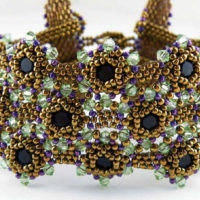 Seed Bead Bezels, Jewelry Making Techniques, Tips and More!