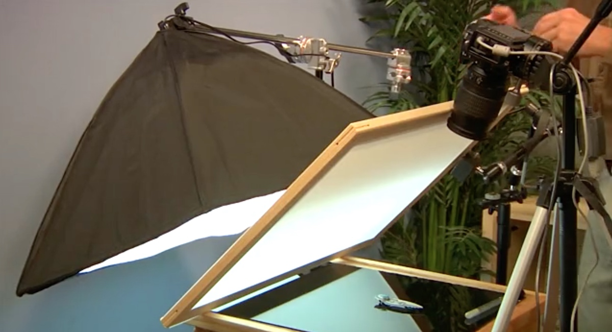 You can easily make your own diffusion frame to start improving your jewelry photography.