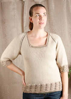 Knitting Gallery - Dirndl Raglan Erin