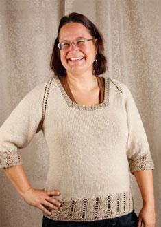 Knitting Gallery - Dirndl Raglan Sandi