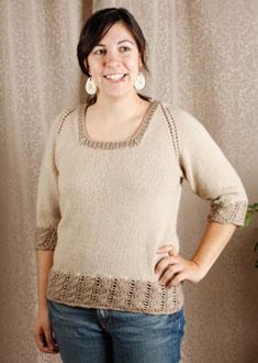 Knitting Gallery - Dirndl Raglan Stefanie