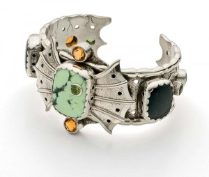 You'll love learning how to make steampunk jewelry, such as this DIY cuff, in our free ebook.