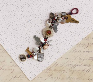 The Sassy Sister's Bracelet is a steampunk bracelet project found in our free How to Make Steampunk Jewelry eBook.