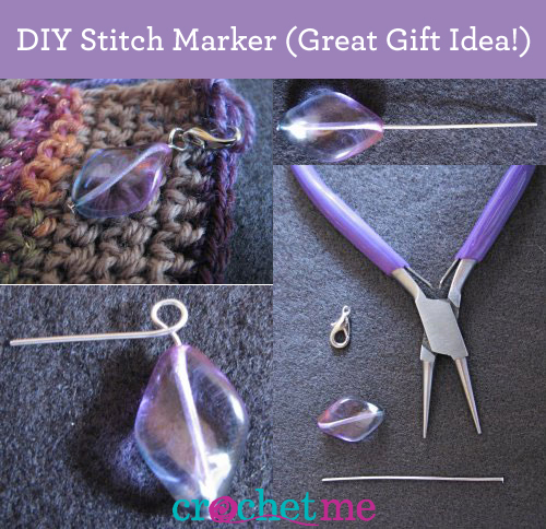 Learn how to make your own crochet stitch markers in this ultimate, FREE guide from Interweave.