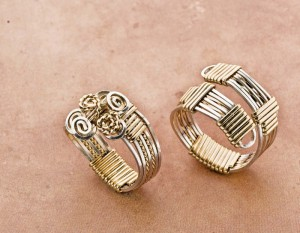 Learn how to make a wire ring in this free ring-making guide.