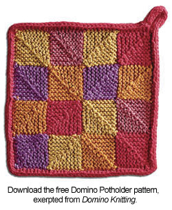 Free Pattern: Domino Potholder